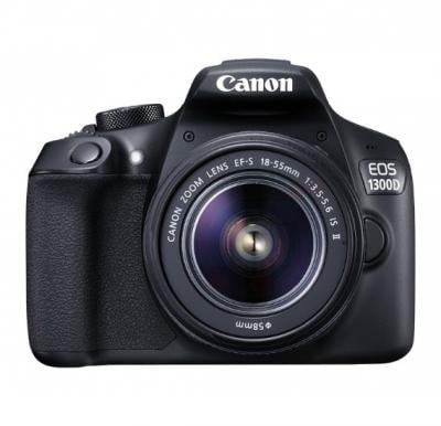Canon EOS 1300D 18MP Digital SLR Camera with EF S18-55mm III Lens Kit