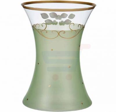 Bohemia Crystal Glass Vase 255 mm, Green