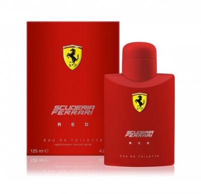 Red Scuderia by Ferrari for Men, edT 125 ml