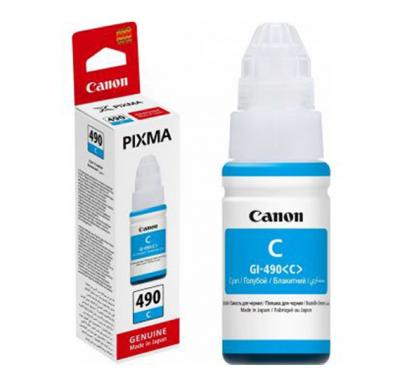 Canon 490c Ink Bottle Cyan 70ml