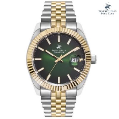 Beverly Hills Polo Club G Analog Watch For Men BP3113X.270, Green