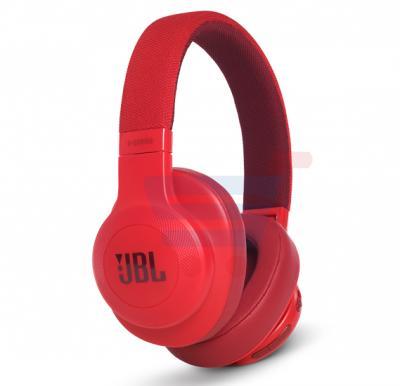 JBL Over-Ear Bluetooth Stereo Wireless Headphone E55BT Red