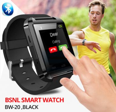 BSNL BW-20 Smart Watch, Black