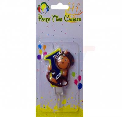 Party Time Candle animal 1 M116