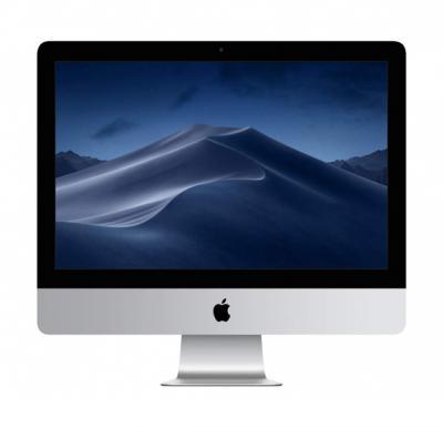 Apple iMac Silver i5 3.0 Quad Core 8GB 1TB Radeon PRO 555 with 2GB 4K Retina P3 21.5 Inch - (M. Mouse2 / M. Keyboard2) English,MNDY2 B/A