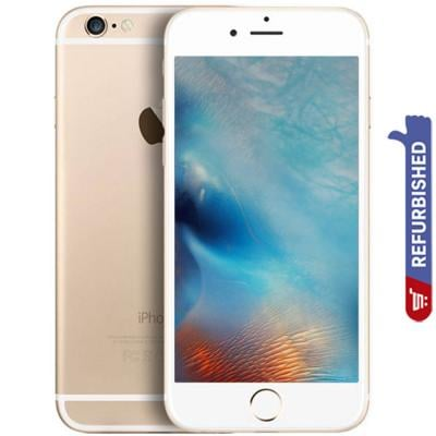 Apple iPhone 6 1GB RAM 64GB Storage 4G LTE, Gold- Refurbished