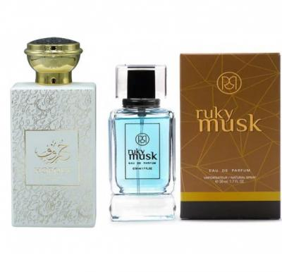2 in 1 Saver pack of Horouf Perfume 100ml and Ruky Musk Perfume 50ml - RK016