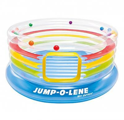 Intex-Jump-o-lene transparent ring bounce, ages 3-6,48264
