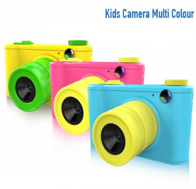 Kids Action Camera With 16 GB Memory Card - Assorted