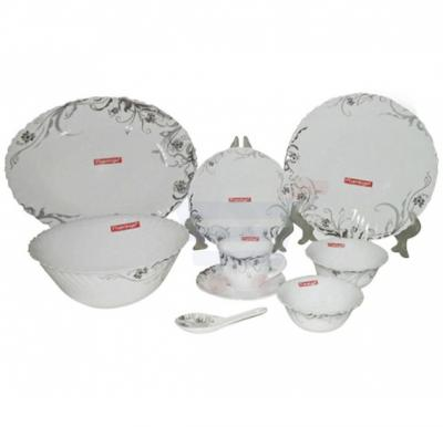 Flamingo Round Opal Dinner Set 45 PCS - FL7000ODS