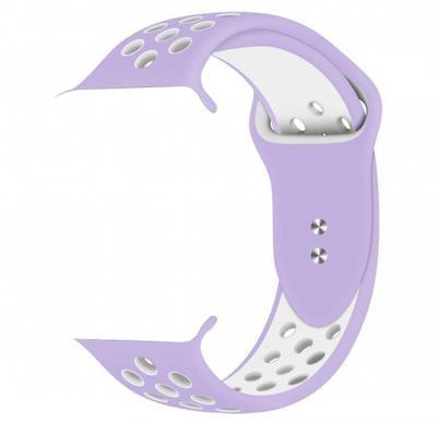 Promate Oreo-38ML Sport Apple Watch Band 38mm/40mm, Purple/White