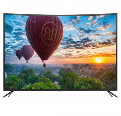 Geepas 55 Inch Smart 4K UHD Curved LED TV, GLED5502CSFHD