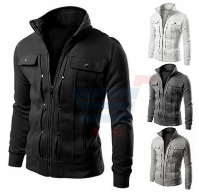 Mens Casual Design Rapid Jacket Black (Small) - 1561