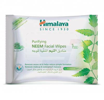 Himalaya Herbals Purifying Neem Facial Wipes - NHS0451