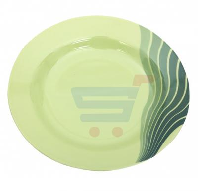 Royalford Melamine Ware 10 Inch Soup Plate Radiant Thai Green - RF8157