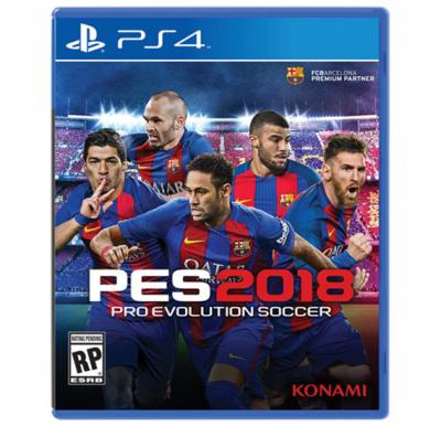Konami PES 2018 For PS4