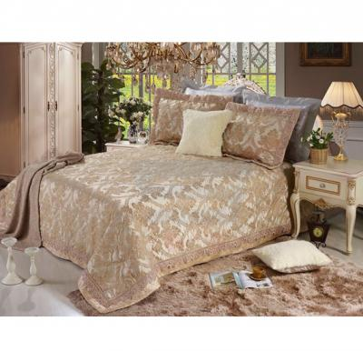 Senoures Lace Jacquard Bed Spread 3Pcs Set Double - SEB-005