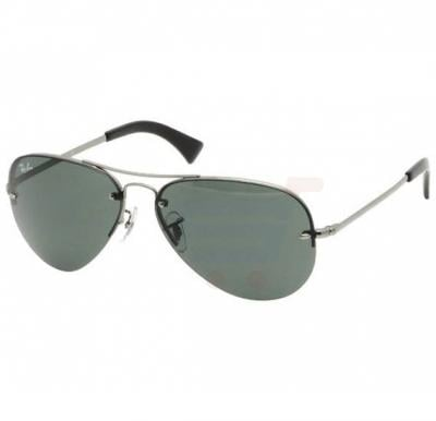 Ray-Ban Active Gunmetal Frame & Green Mirrored Sunglasses For Women - RB3449-004-71-59