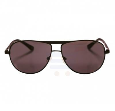 Aigner Aviator Black Frame & Black Gradient Mirrored Sunglasses For Unisex - AI-SM0-019-COL3
