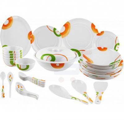 Epsilon 42 Pcs Full Kitchen Melamine Ware Dinner Sets, EN4237