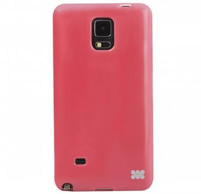 Promate FlexSnap N4 for Samsung Galaxy Note 4, 2 in 1 Flexible Snap On Protective Case, Pink