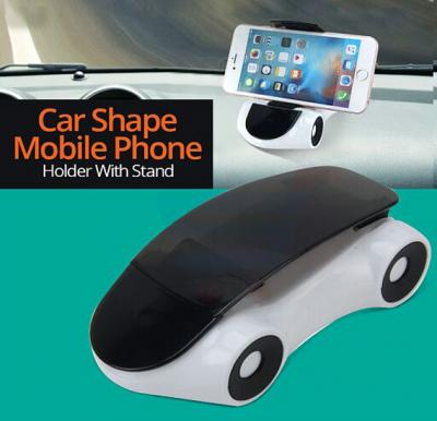Zooni Stylish Car Shape Mobile Phone Holder With Stand 360-Rotation