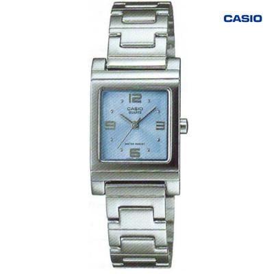 Casio LTP-1237D-2ADF Analog Watch For Women, Silver