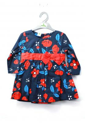 Cucumber Textile Full Sleeve Frock ZW3121