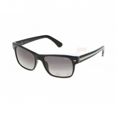 Police Aviator Black Frame & Black Mirrored Sunglasses For Men - SPL165-700