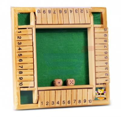 Brain Games Wooden Bamboo Games 1-10