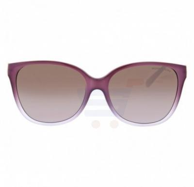Michael Kors Cat Eye Frame & Milky Lavender Gradient Mirrored Sunglasses For Woman - 0MK6006-315994