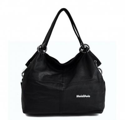 Vintage Shoulder Bag For Women - Black