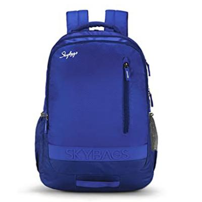 Skybags Bingo Extra 02 Blue School Backpack, SBBIE02BLU