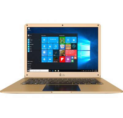 i-life ZedAir H6, Intel Celeron 14 inch Notebook, 6GB Ram, 500GB Hdd,4800mah Battery, Windows 10- Gold