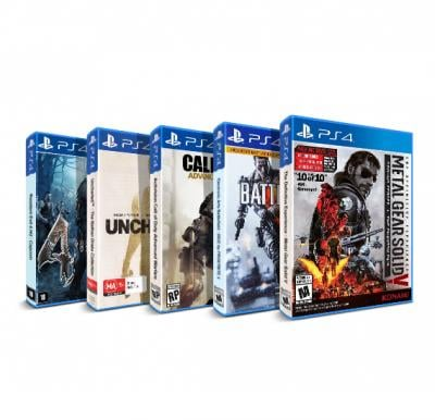 5 In 1 Bundle Offer Buy Metal Gear Solid V And Get Battlefield 4, Call of Duty Advanced Warfare, Resident Evil 4 , Uncharted - The Nathan Drake Collection Free
