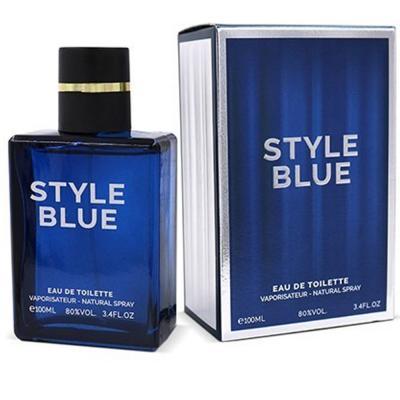 Style Blue Eau De Toilette Spray for Men, 100ml