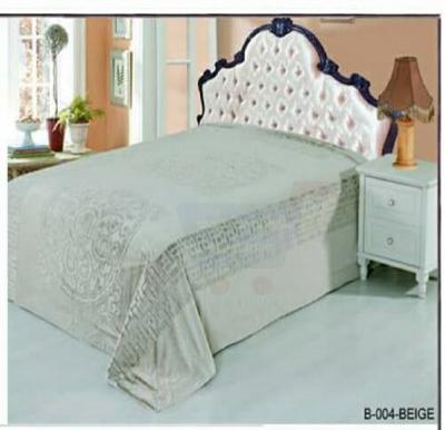 Senoures Classic Blanket Double 220X240CM - B-004 Beige