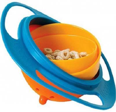Osp 360 Degree Rotatable Spill Proof Kids Universal Gyro Bowl,MC762336