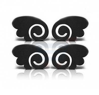 Anglewing Door Guard 4Pcs Set - Black