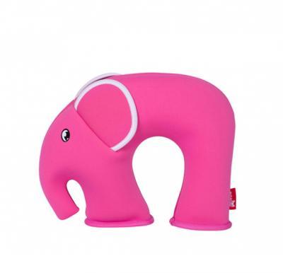 Nohoo Jungle Travel Pillow -Elephant Pink NH_NHU001_EPP Pink (28*23*9)