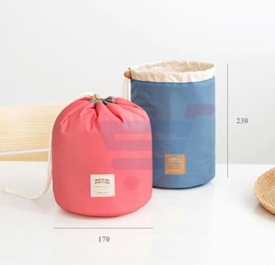 Round Toiletry Bag