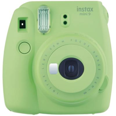 Fujifilm Instax Mini 9 Instant Camera, with 60mm f/12.7 Lens, Lime Green