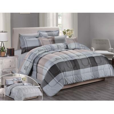 Stargold Print Comforter 8 Pcs Set SUE05, SG-CP2003