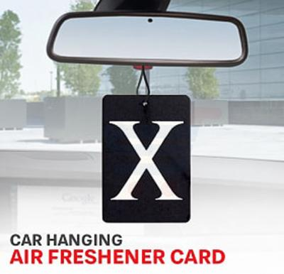 Aromatic Car Hanging Air Freshener, Assorted Colors