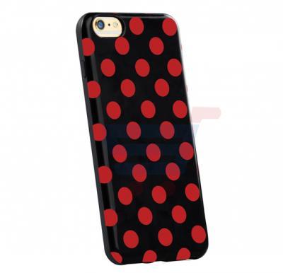 Promate Dotti i6P iPhone Case, Premium Ultra Slim Protective Designer Case for iPhone 6/6S Plus, Red