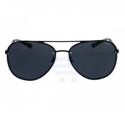 29a07eaff9ec6 Police Aviator Black Frame   Grey Mirrored Sunglasses For Unisex -  SPL379-531P