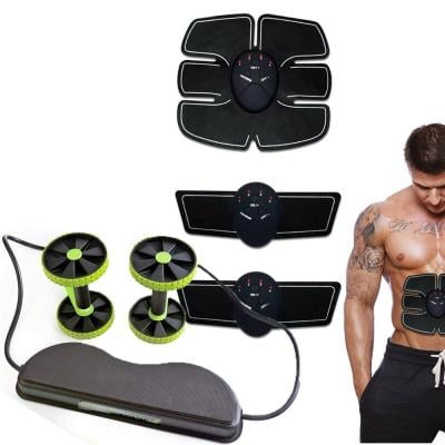 2 in 1 combo Smart Fitness Mobile-Gym Waist Fitness Workout Training Equipment