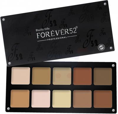 Forever52 Contour Powder 10 Color Palette - FFP001