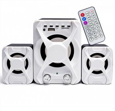 2.1 Mini Multimedia USB/FM Radio Speaker, FT- XSD-3U