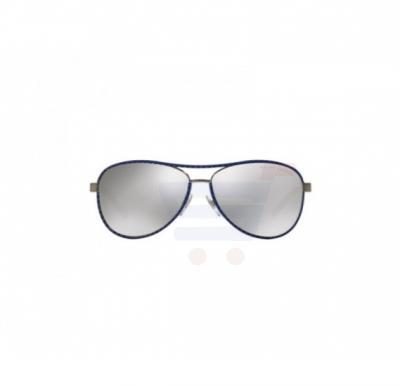 a17ee1601c48 Ralph Lauren Aviator Brushed Gunmetal Frame & Grey Mirrored Sunglasses For  Woman - 0RL7050Q-92996G